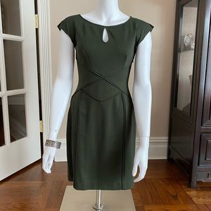 Laundry by Shelli Segal Olive Dress